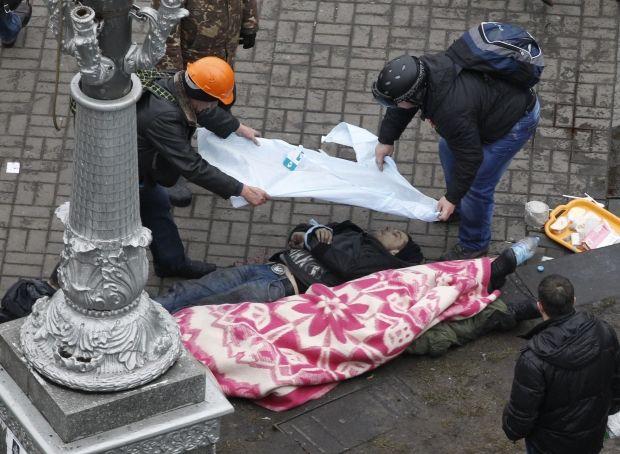 Death toll rises to 7 at Maidan/ REUTERS