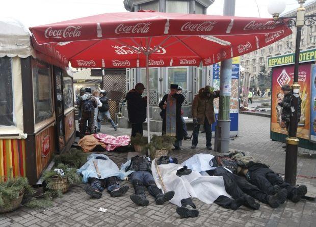 Счет погибших на майдане пошел на десятки / Reuters
