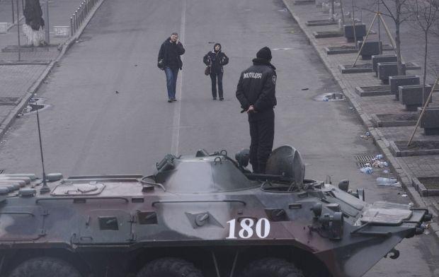 Правоохранители были приведены в полную боевую готовность