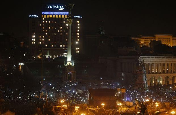 Майдан контролює Київ / REUTERS