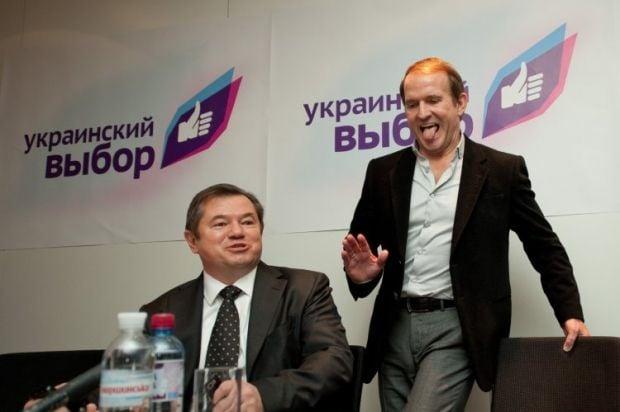 Сергій Глазьєв і Віктор Медведчук