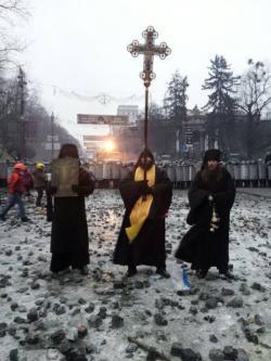 Молитва о прекращении кровопролития на Майдане