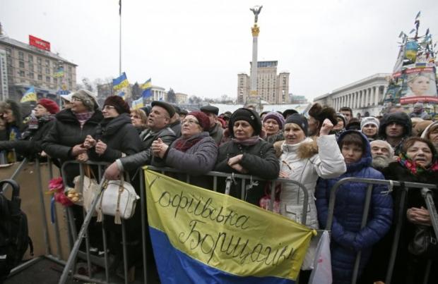 На Майдані вшановують пам'ять загиблих