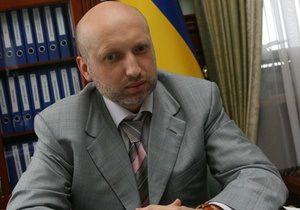 Председатель Верховной Рады и и.о. Президента Украины Александр Турчинов