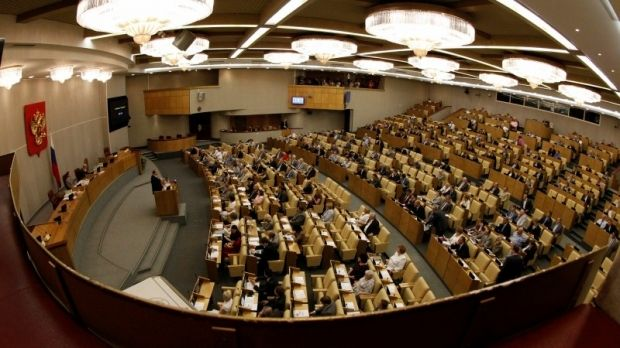 State Duma adopts decision on annexation of Crimea / REUTERS