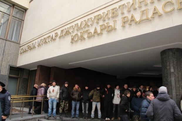 У Верховну Раду Криму не пустили журналістів