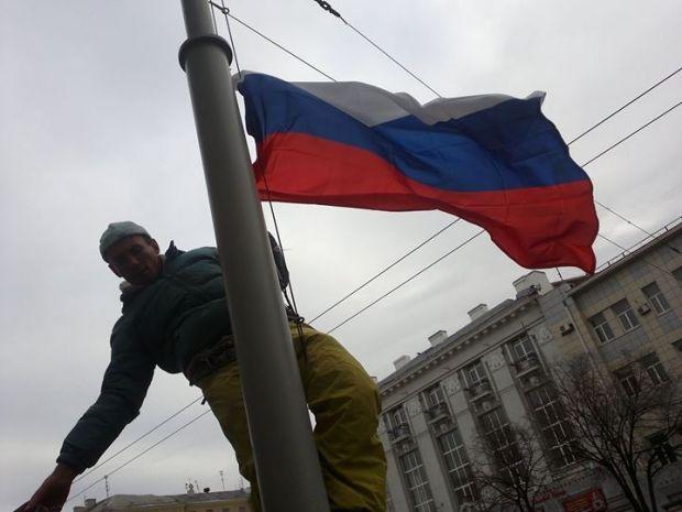 Кернес: флаг России снимут с Харьковской мэрии / Slava Mavrichev / facebook.com