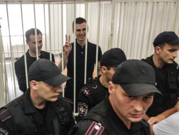 На свободу вышел старший Павличенко