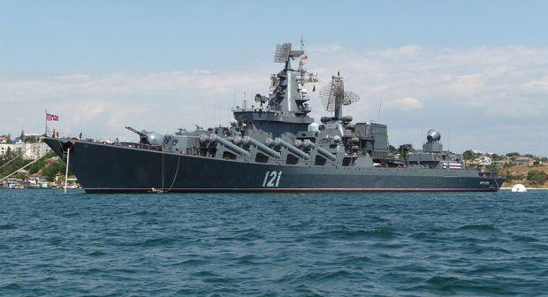 Украинские пограничники сообщают, что к украинским кораблям приближается ракетній крейсер