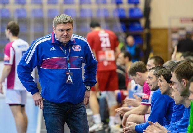 Сергей Бебешко нацеливает команду на выход в плей-офф ЛЧ / handball.motorsich.com