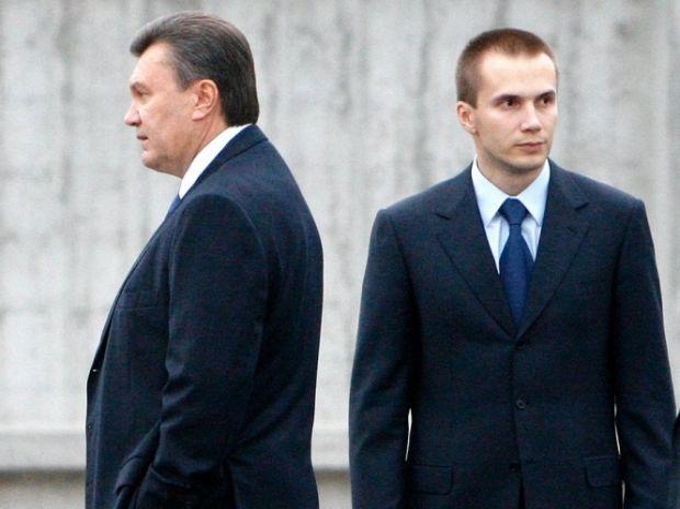 Янукович, Виктор, Александр / Фото Ярослава Дебелого