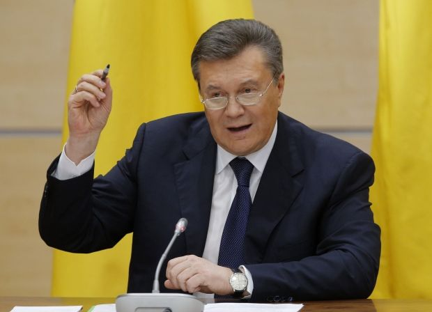 Yanukovych to make statement in Rostov-on-Don at 11.00 am / REUTERS