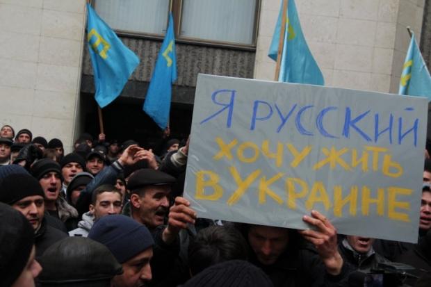 Судьба Крыма может определяться только на Всеукраинском референдуме, считает Томбински