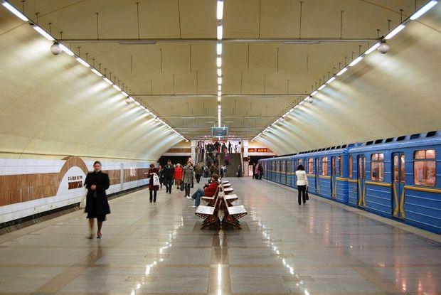 В метро погиб человек