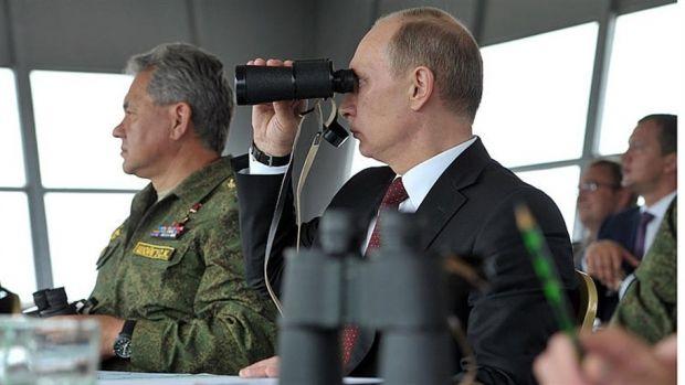 Путин решил ввести войска в Крым, expressen.se