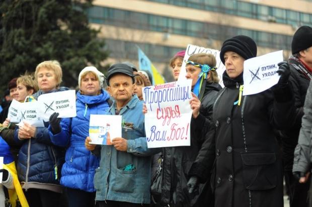 Жители Запорожья обратились к соседям из России с просьбами «Не надо нас защищать!»