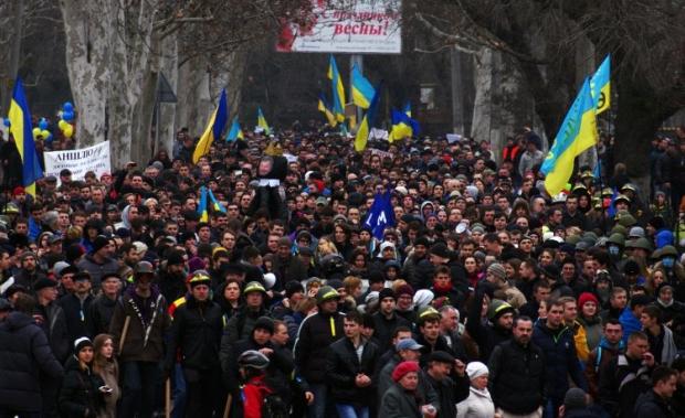 """Многочисленные митинги прошли в регионах, которые """"нуждаются в защите российских военных"""""""