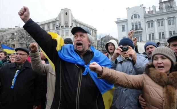 в Харькове выходные прошли не так спокойно