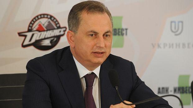 Борис Колесников обещает полностью восстановить арену к началу следующего сезона КХЛ / hcdonbass.com