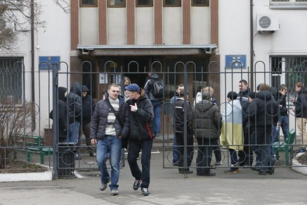 Киев, мобилизация, армия, мужчины, военкомат