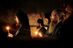 Прощеное Воскресение на Афоне