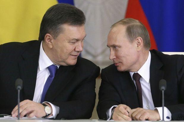 Віктор Янукович і Володимир Путін / REUTERS