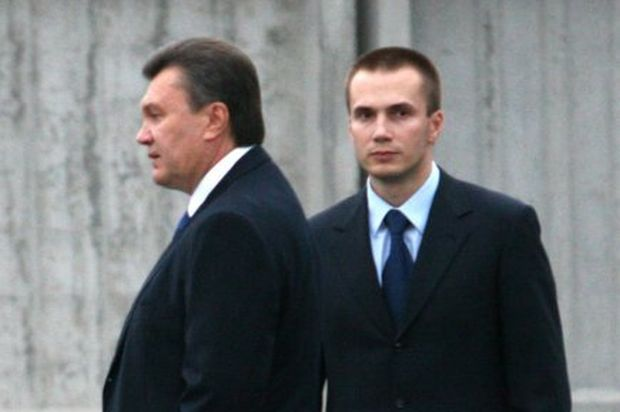 Yanukovych's son is wanted by SBU