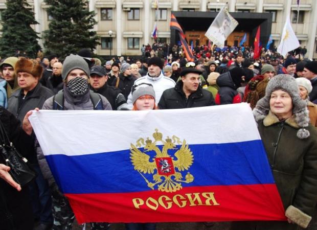 Пророссийские активисты хотят ввода российских войск в Харьков