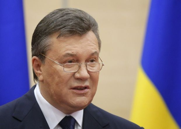 Yanukovych considers he is legitimate president of Ukraine/REUTERS