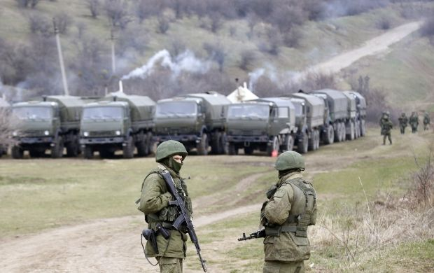 Russia has made military intervention in Kherson region / REUTERS