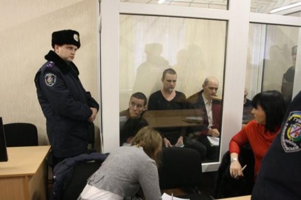 """Четверо """"днепропетровских террористов"""": Сукачев, Просвирнин, Рева и Федоряк"""