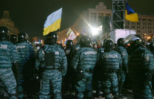 Беркут на Майдані / УНІАН