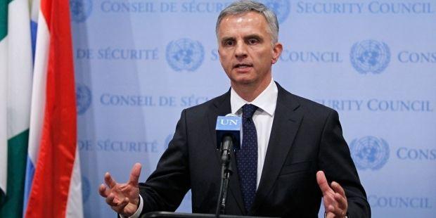 Голова ОБСЄ Дідьє Буркгальтер  підвів підсумок року/ un.org