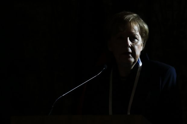 Merkel refused to go to the Russian forum / REUTERS