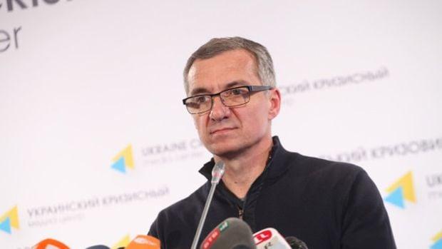 Александр Шлапак на пресс-конференции для СМИ / uacrisis.org