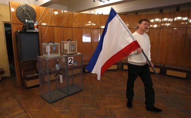 Голосование в Крыму будет проходить в атмосфере угроз / REUTERS