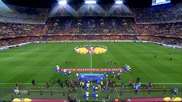 Динамо неудачно провело матчи против Валенсии