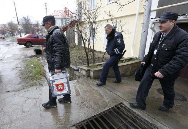 Крым, референдум / REUTERS