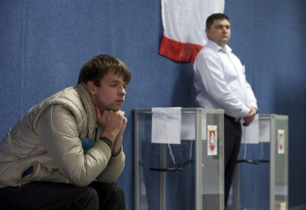VR of Crimea declares independence of Crimea / REUTERS