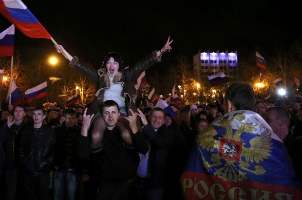 Кримчани готуються увійти до складу РФ / REUTERS