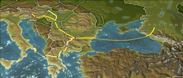Южный поток заморозили / hvylya.org