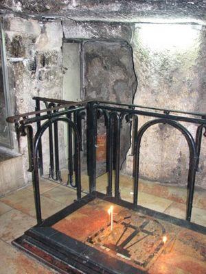 Место обретения Честного Креста в Иерусалиме
