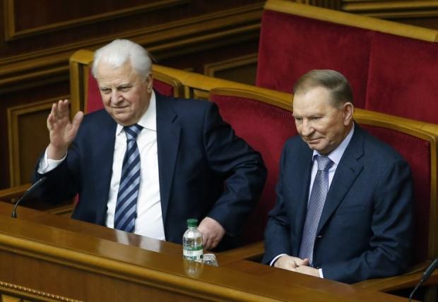 Кравчук и Кучма выступили против попыток сепаратизма и провокаций