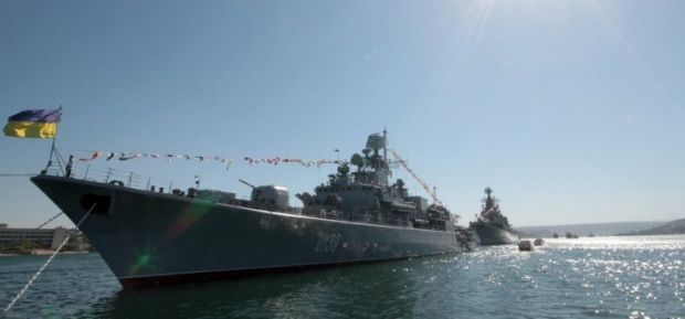 The Hetman Sagaydachniy Frigate / Photo from UNIAN