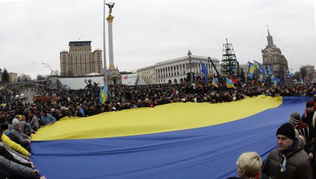 Maydan Nezalezhnosti in Kiev, December 1, 2013