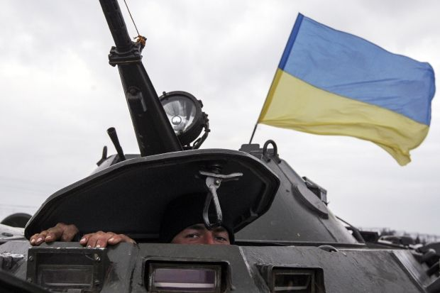 Dnipropetrovsk landing force with weapons and equipment leaves Crimea – Hrytsenko/REUTERS
