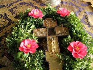 Крест с частицей Животворящего Креста Христова