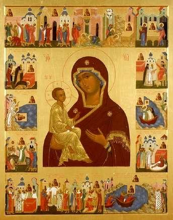 Лиддская икона Божией Матери