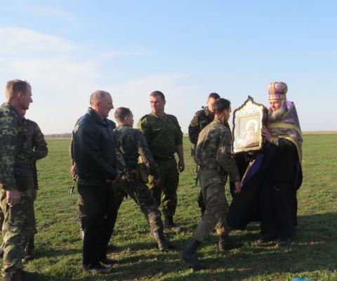 На границе Херсонской области с Крымом