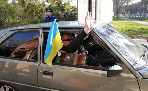Часть морпехов из Феодосии покинула Крым